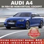 AUDI A4 S4 RS4 B9 1i
