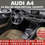 AUDI A4 S4 RS4 B9 2