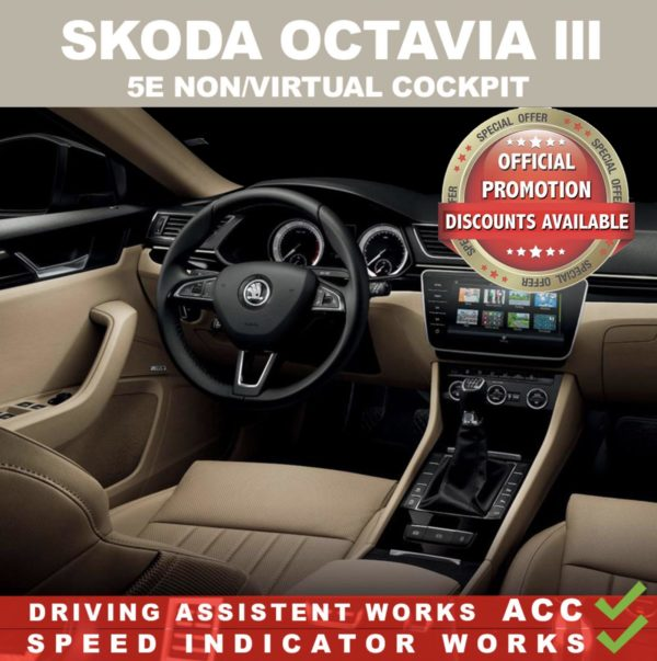 Mileage Blocker Skoda Octavia III 2