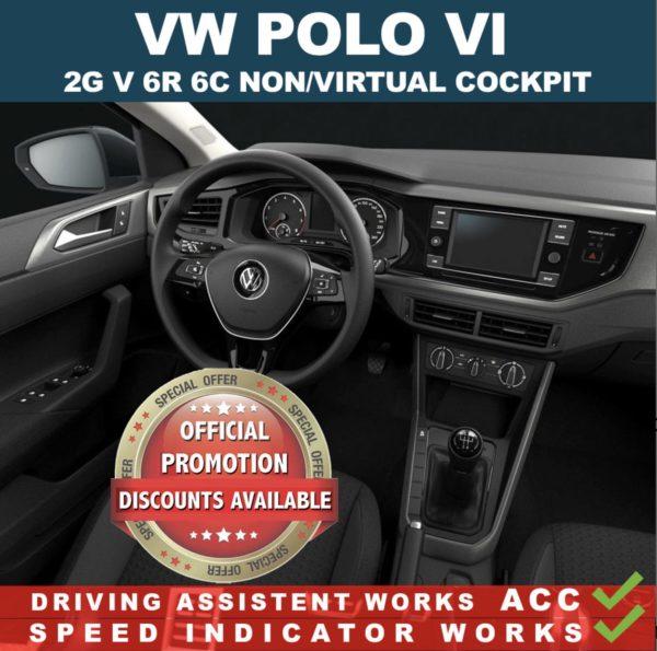 VW Polo VI 2G – mileage filter – odometer freezer – Can filter blocker 2