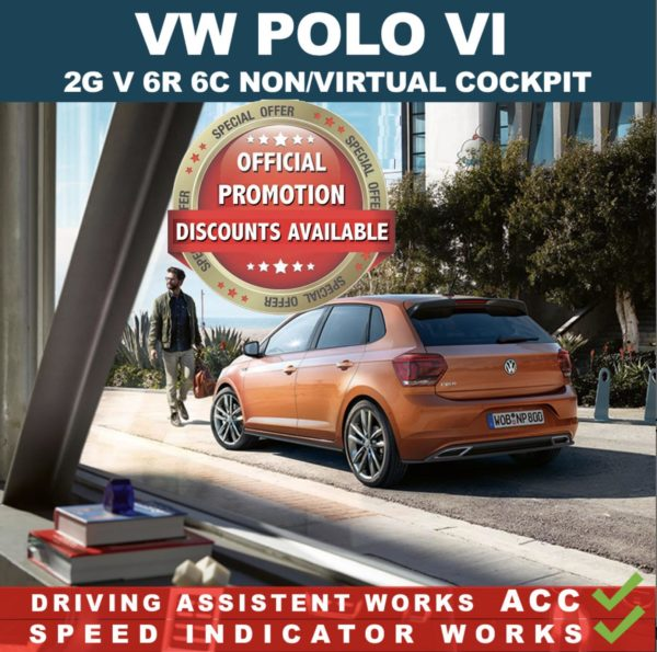 VW Polo VI 2G – mileage filter – odometer freezer – Can filter blocker