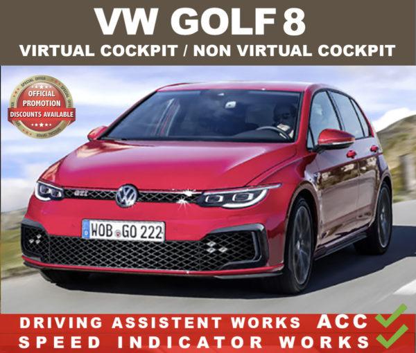 VW Golf 8 EXTERIOR