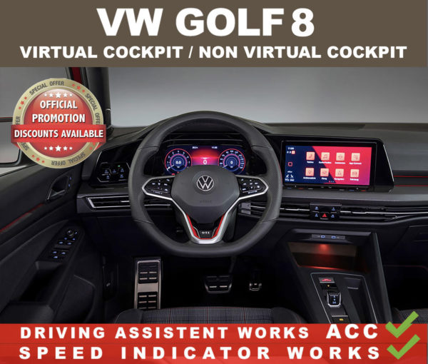 VW Golf 8 INTERIOR